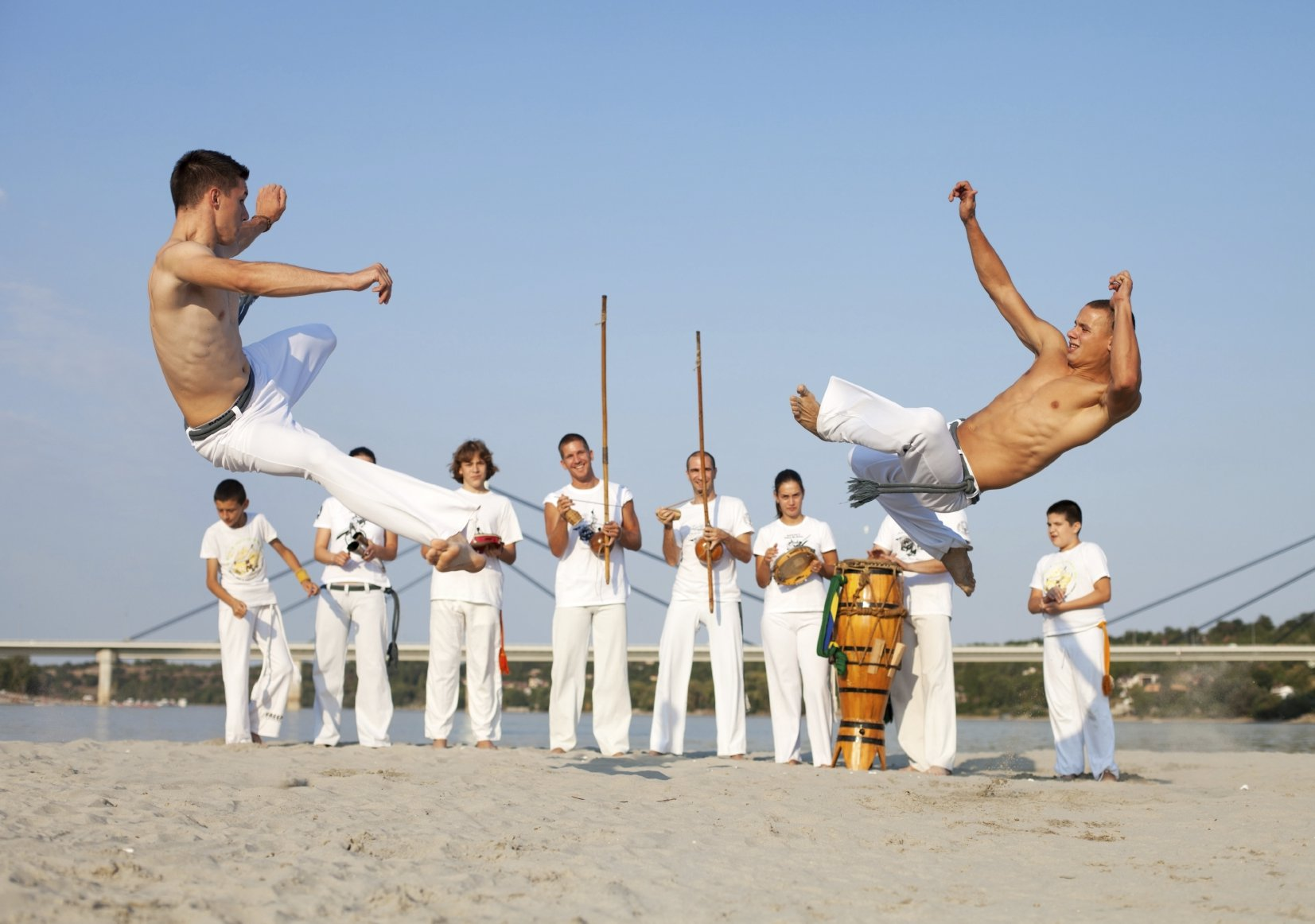 a history of capoeira a brazilian martial art Capoeira is an afro-brazilian martial art that combines dance, music, and acrobatics it teaches discipline, self-defense, physical fitness, and more.