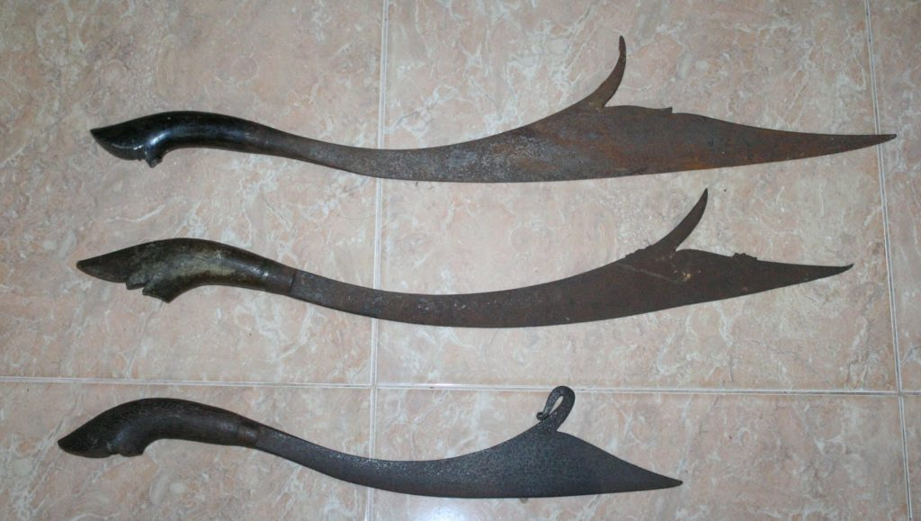 Most unusual martial arts weapons a short sword with a blade that broadens from the base towards the tip into a notch the kelewang might look strange but this indonesian weapon is not to altavistaventures Gallery