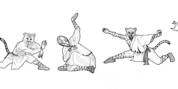 Kung-fu style fist