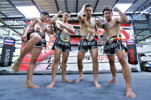 muay thai gym thailand