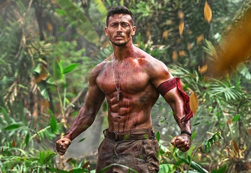 How to get ridiculously toned like tiger shroff martial - Baaghi 2 love wallpaper ...