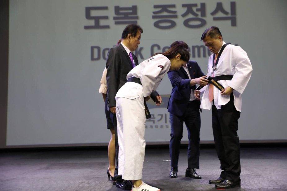 honorary black belt
