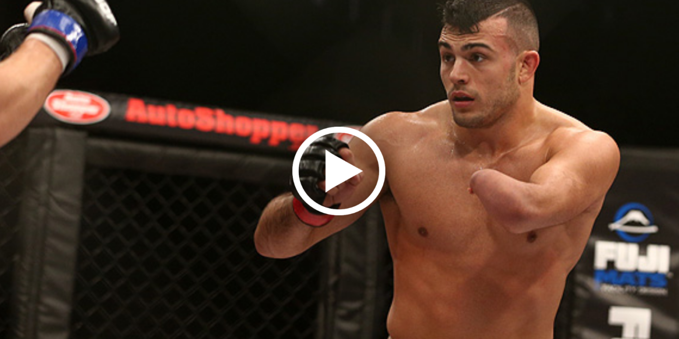 UFC one-armed fighter Nick Newell challenges opponents 33