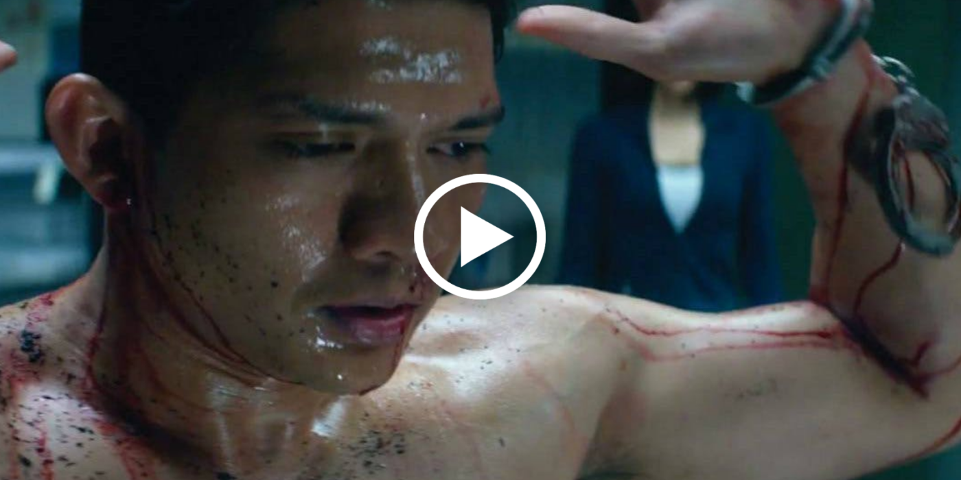 watch   iko uwais is dynamite in the new mile 22 movie