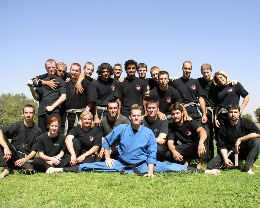 martial arts happiness