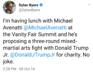 trump jr vs avenatti